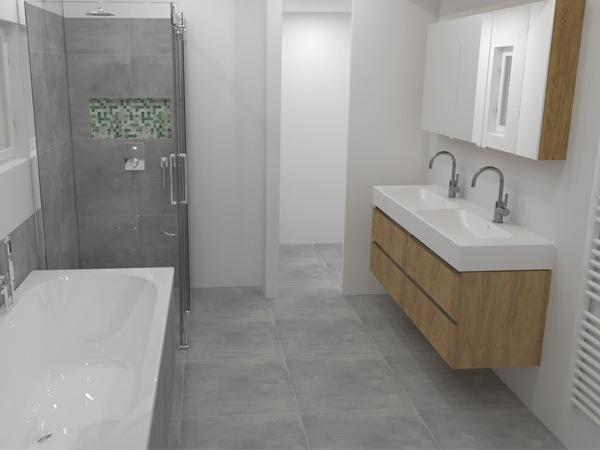 Tekening Badkamer Maken : Werkzaamheden quote page badkamervakman complete badkamer